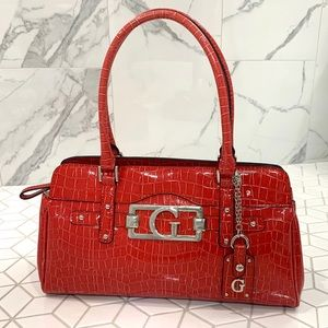 Vintage Red Guess Bag